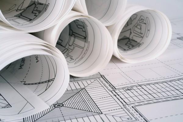 Nuova costruzione di edificio residenziale economico popolare pluripiano