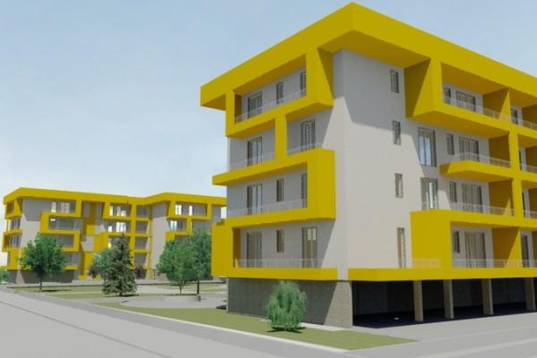 Melegnano – Progetto per due edifici residenziali