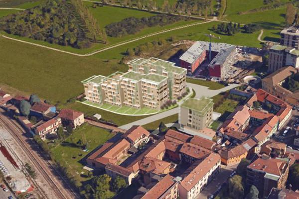 Bruzzano – nuova costruzione di 3 edifici residenziali