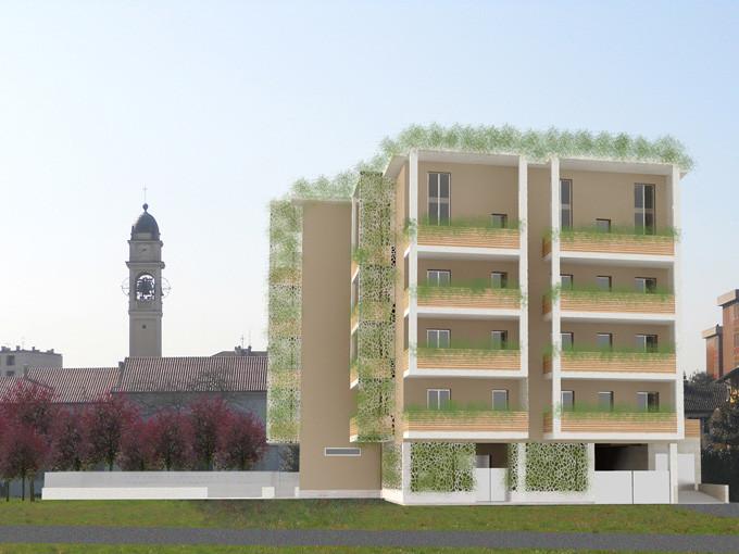 Bruzzano nuova costruzione di 3 edifici residenziali for Progettazione di edifici residenziali