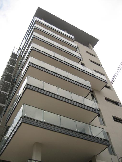 Edificio residenziale i 4 milano studio pietro pensa for Piano di costruzione dell edificio
