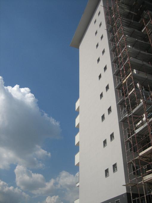 Edificio residenziale i 1 milano studio pietro pensa for Piano di costruzione dell edificio