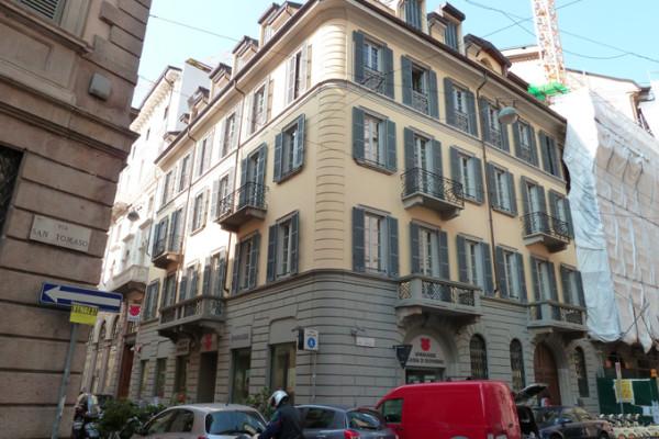 Ristrutturazione edificio via San Tomaso, ang. via Rovello – Milano